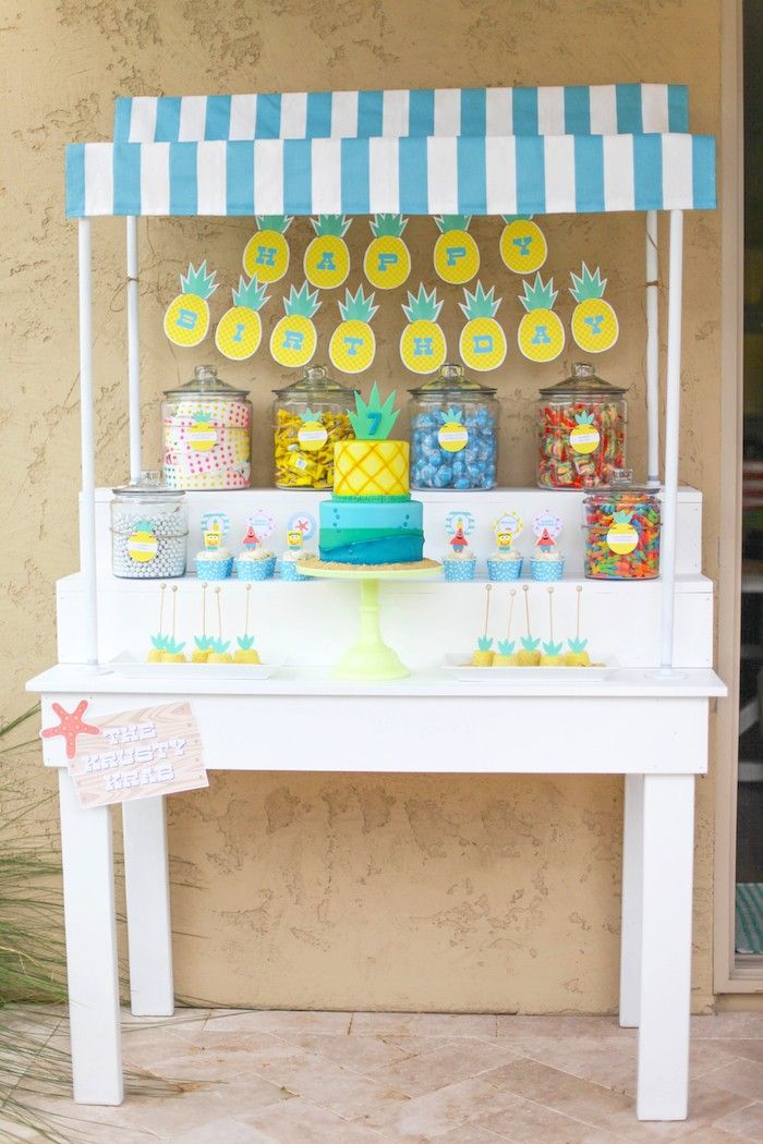 Party Cart - Spongebob Birthday