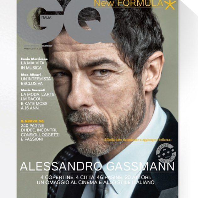 GQ New formula, Alessandro Gassman