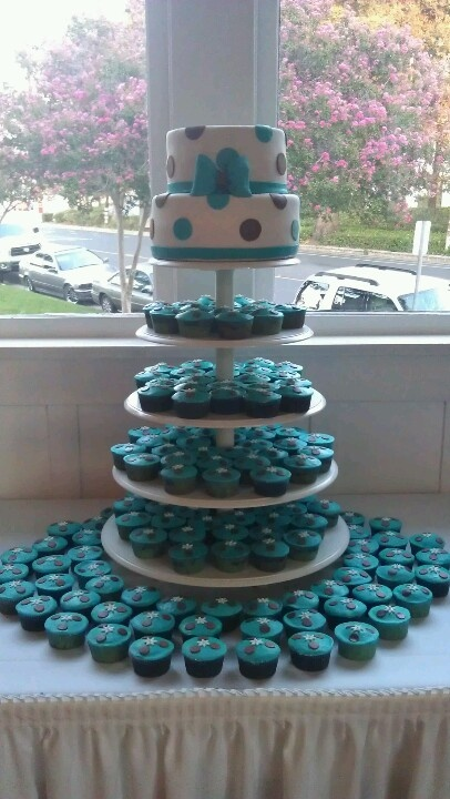 Quinceanera cake and cupcakes My Dream Quinceanera ...