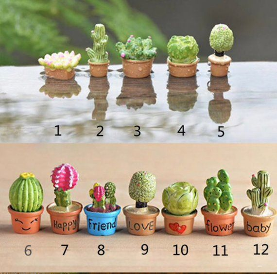 Accessories Miniature Dollhouse FAIRY GARDEN Mini Palm Trees