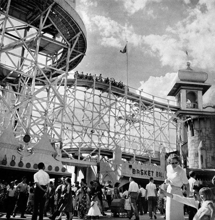 Luna Park, St Kilda, Melbourne in the 60's