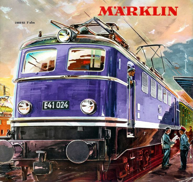 1960-61 Marklin catalogue