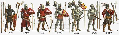 """西洋甲冑師見習い+2さんはTwitterを使っています: """"西洋甲冑も騎士も全部同じ時代にしないで〜、と一生懸命啓蒙してる海外の人を見るとその気持ちがよく分かる♫ 鎧は数百年の発展の歴史があるので、全部一緒にしちゃうととんでもないことになるよね。全身プレート甲冑だけだと利用時代はとても短い。 https://t.co/f1v0ZANr8U"""""""