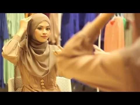 Cara pakai pashmina terkini ala Heliza Helmi 2014 - YouTube