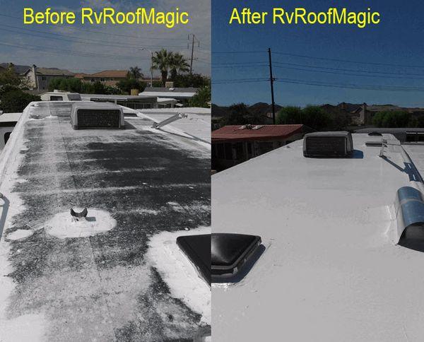 Diy Rv Roof Repair Roof Sealant Roof Waterproofing Roof Repair