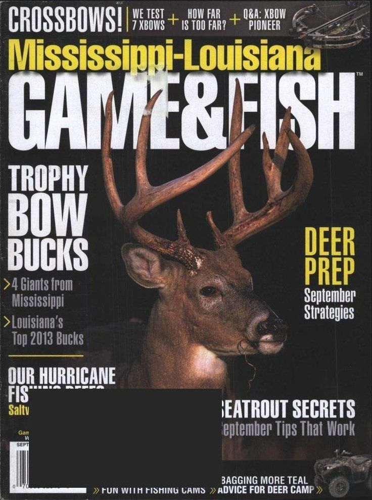 Mississippi Louisiana Game u0026 Fish Magazine Subscription Fishing