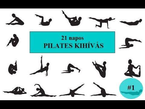 21 napos pilates kihívás#1.nap - YouTube