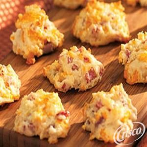 Country Ham Biscuit Bites from Crisco�