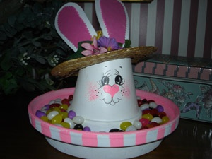 Easter Bunny Candy Dish...
