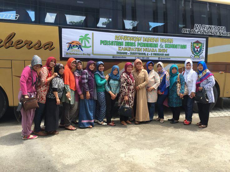 Dharma Wanita Dinas Pendidikan Kabupaten Muara Enim #trip padang