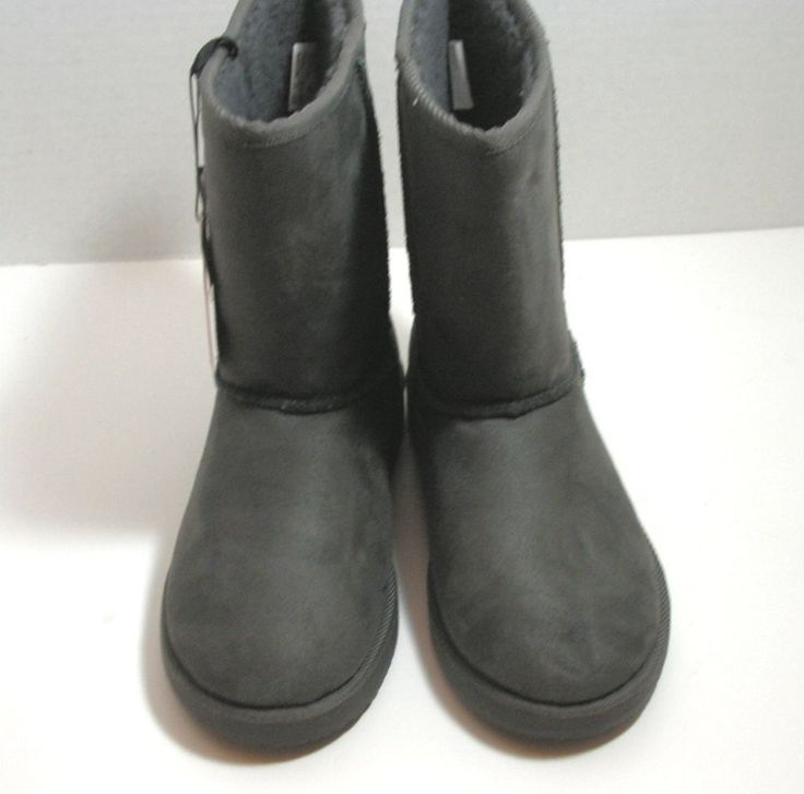 Womens Air Walk Gray Boots Size 6.5 New In Box. With Tags #AIRWALK #Booties #winter