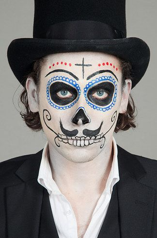 disfraz hombre sugarskull - Google Search
