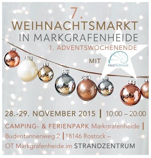 MeerSchmuck auf dem Adventsmarkt am 28.-29.11.2015 im Camping-& Ferienpark Rostock-Markgrafenheide/Strandzentrum