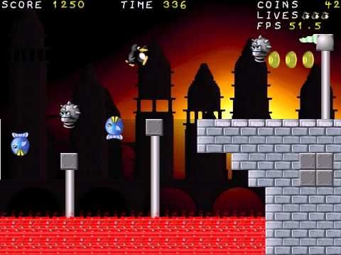 Supertux - Kool Levels: Sunset City - YouTube