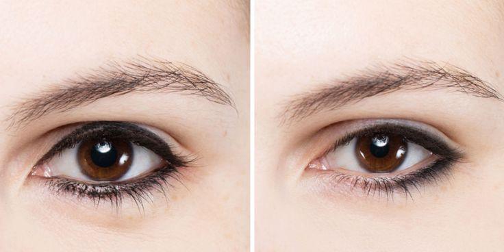 Eyeliner errori applicazione
