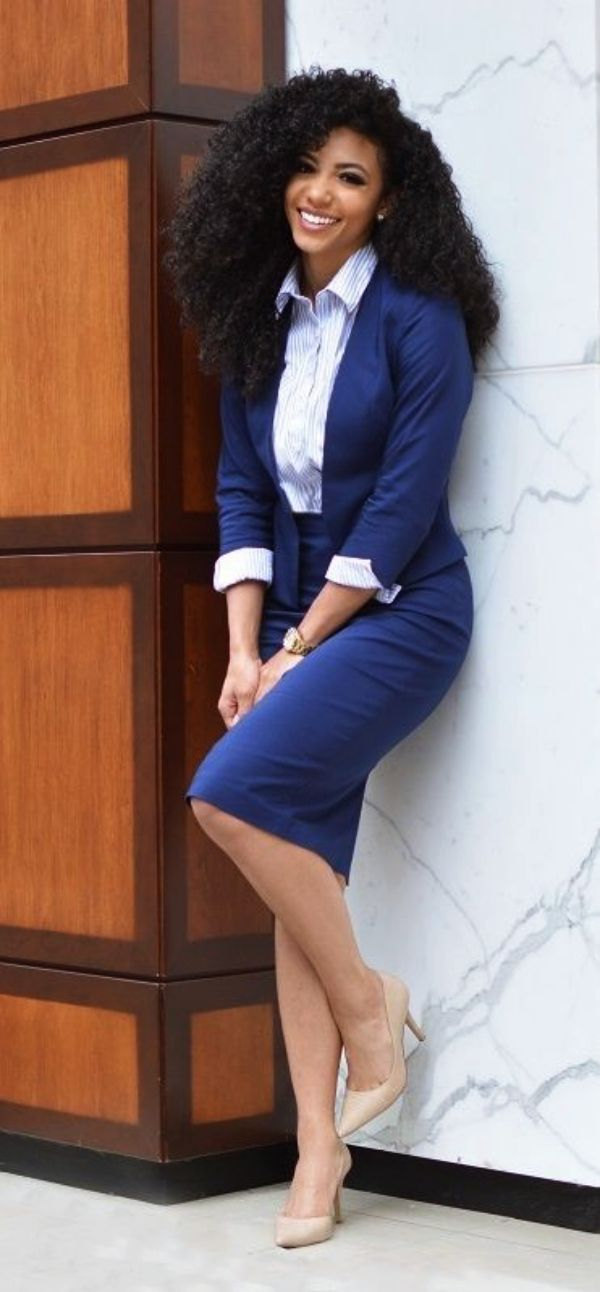 70 casual work outfits for black women  professional