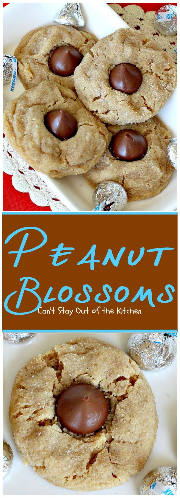 Peanut Blossoms | Can't Stay Out of the Kitchen