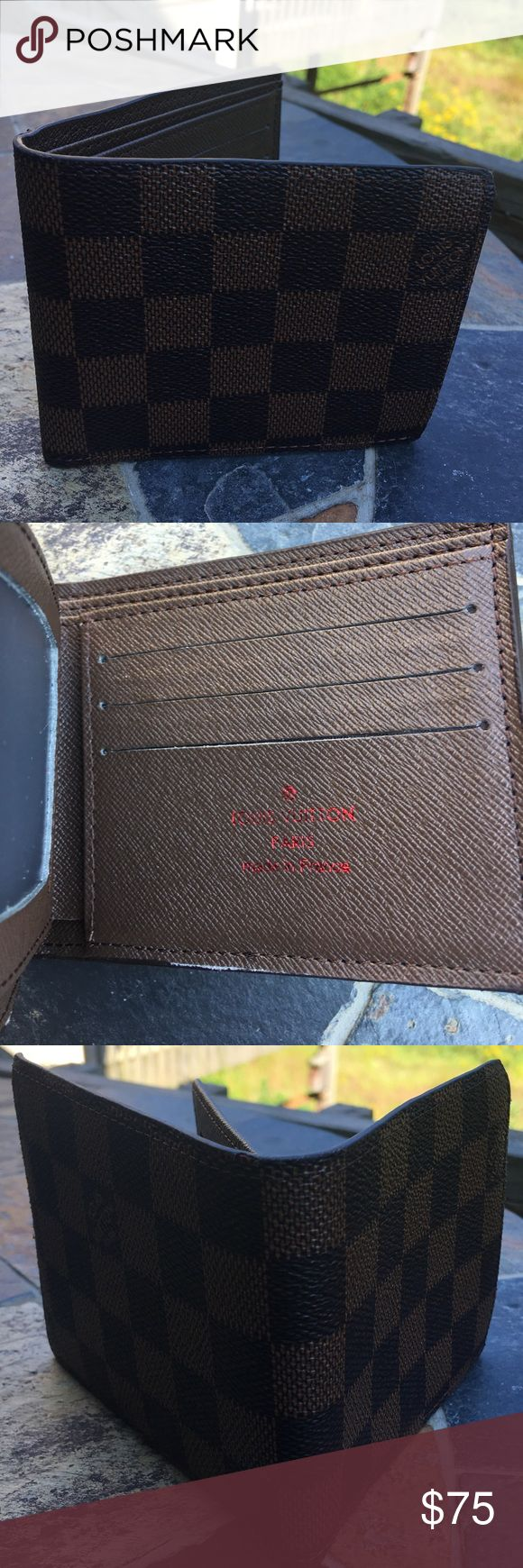 LOUIS VUITTON WALLET Price reflects a brand new Louis Vuitton wallet. UA, No Flaws. OBO. No Lowballing Louis Vuitton Accessories