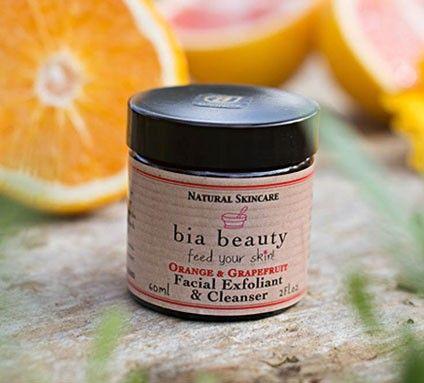 Orange & Grapefruit Facial Exfoliant & Cleanser 60ml €16.95
