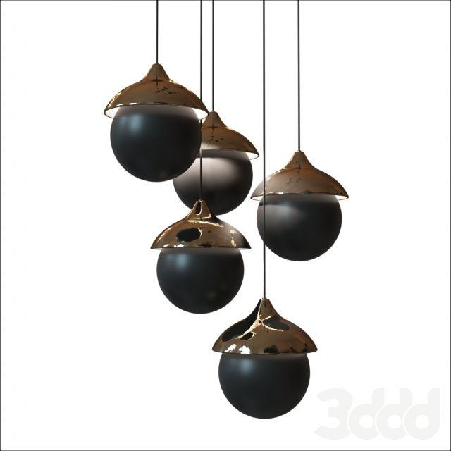 3d модели: Люстры - Illustri Sphere Pendant