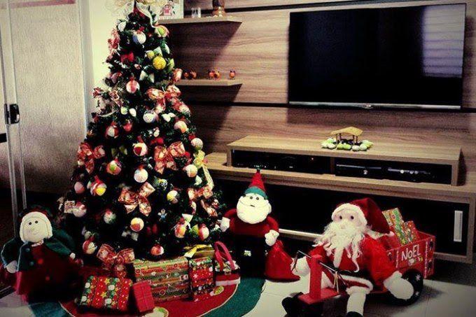 Os nossos internautas compartilharam as árvores de Natal deste ano nas fanpages do Casa.com.br e da revista CASA CLAUDIA. Confira uma seleção delas!