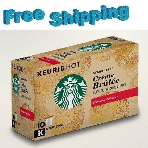 Starbucks Christmas Flavored Kcups 2020 Starbucks Creme Brulee Flavored Coffee Keurig k cups in 2020