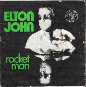 rocket man single vinyl