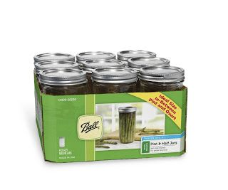 Homebrew Finds: Ball Wide Mouth Pint and a Half Jars - $12.99, Record Low