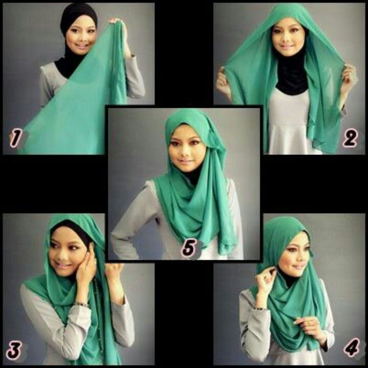 Pashmina in green