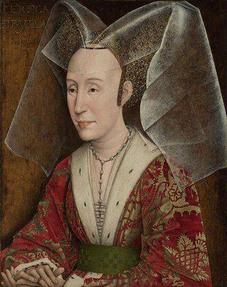Workshop of Rogier van der Weyden Portrait of Isabella of Portugal, 1445-50