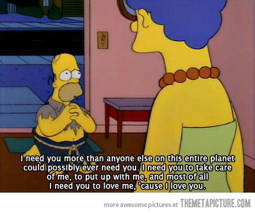 funny-Homer-Simpson-Marge-love