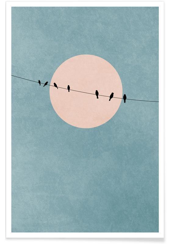 The Beauty of Silence als Poster von Kubistika | J…