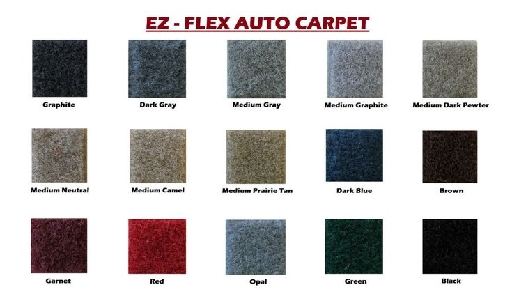"EZ-Flex Automotive Carpet 80"" Wide Multiple Colors #AmericanFoamandFabrice"