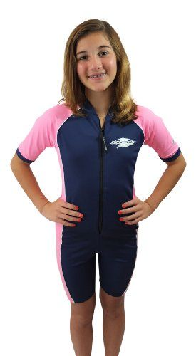 d6c386da9c412 Stingray Australia Girls UV Sun Protective Rash Guard Swimsuit SPF 50  Sunsuit