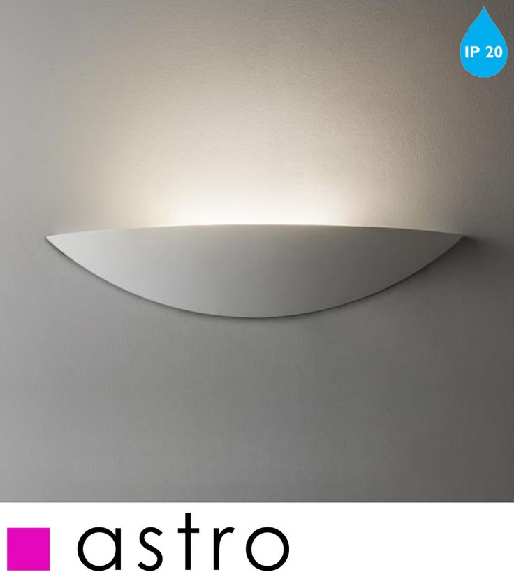 ASTRO 'SLICE LED' IP20 WALL LIGHT, WHITE FINISH - 7399 None
