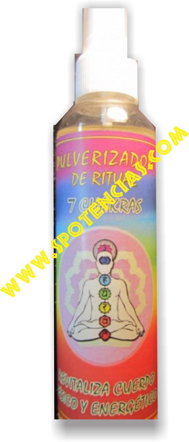 pulverizador para armonizar los chakras www.spotencias.com