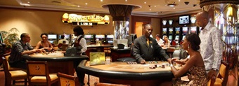 The Kalahari Sands Casino, situated in the heart of Windhoek,  is a gaming haven that combines entertainment and the history of the Kalahari into one ultimate experience.