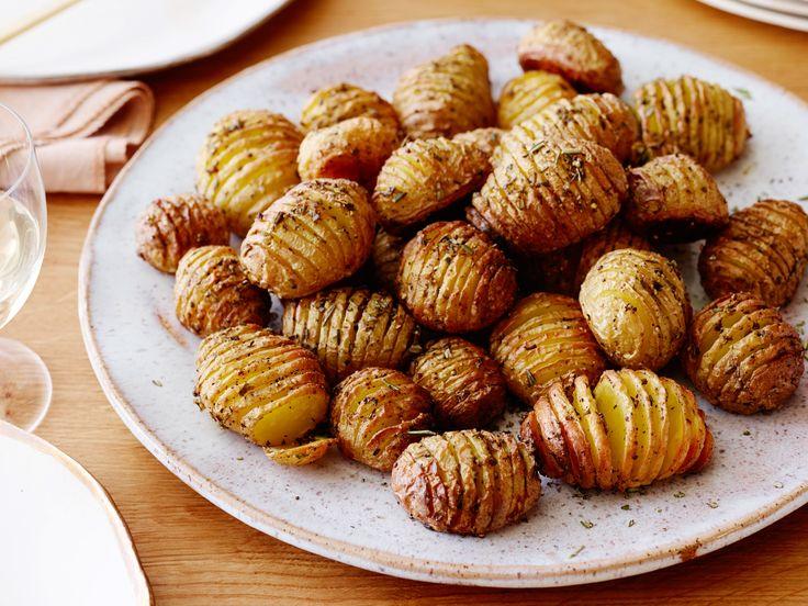 Rosemary Roasted Potatoes Recipe : Ina Garten : Food Network  http://www.foodnetwork.com/recipes/ina-garten/rosemary-roasted-potatoes-recipe.html