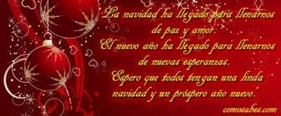 feliz navidad y feliz año nuevo #mensajes #FelizNavidad