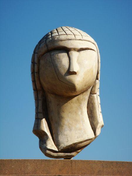 La dame à la capuche de Brassempouy // Nathalie - Licence CC BY-NC-ND //