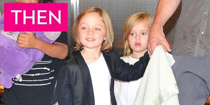 What Vivienne and Knox Jolie-Pitt Look Like Now - Angelina Jolie and Brad Pitt's Twins