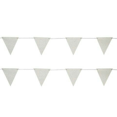 Flag Bunting - Silver $3.00