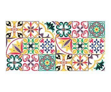 M s de 1000 im genes sobre mosaicos y dibujos geom tricos - Alfombras dibujos geometricos ...