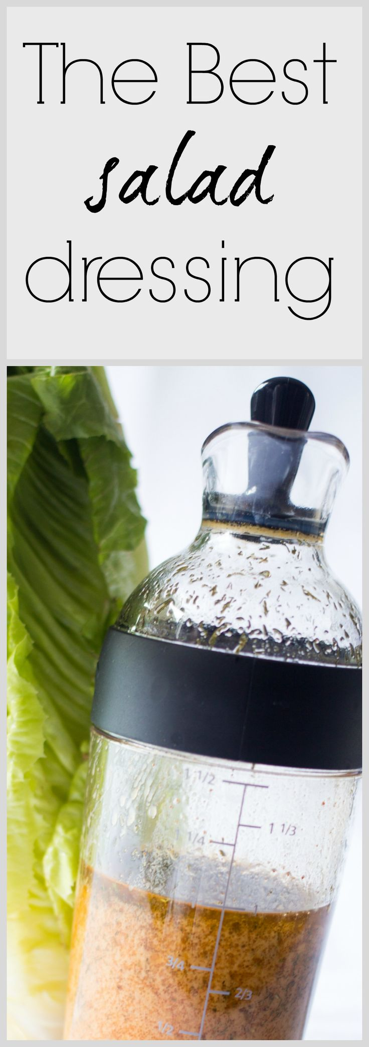 Since I discovered this dressing, I really think it's the best! I'm make it almost every week and the whole family loves it! Really tasty with a little dill flavor and sweet little taste. - recipe for salad dressing -http://www.nobletandem.com/recipe/best-salad-dressing-ever/