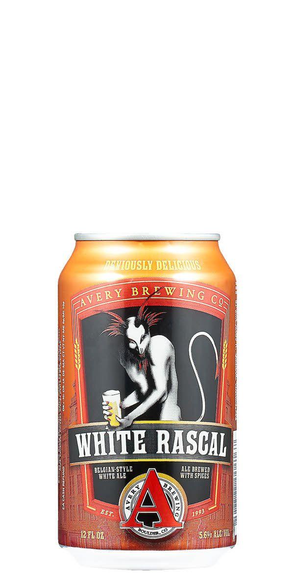 En lätt och läskande witbier på burk från amerikanska superbryggeriet Avery Brewing Co.