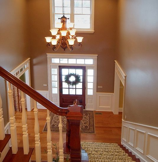 30 best images about dream foyer on pinterest for Foyer staircase decorating ideas