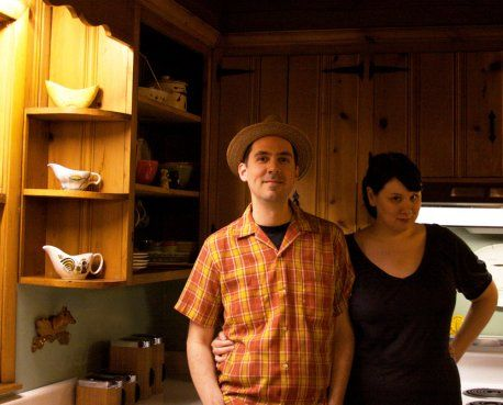 A knotty pine kitchen - respectfully retained and revived - Retro Renovation