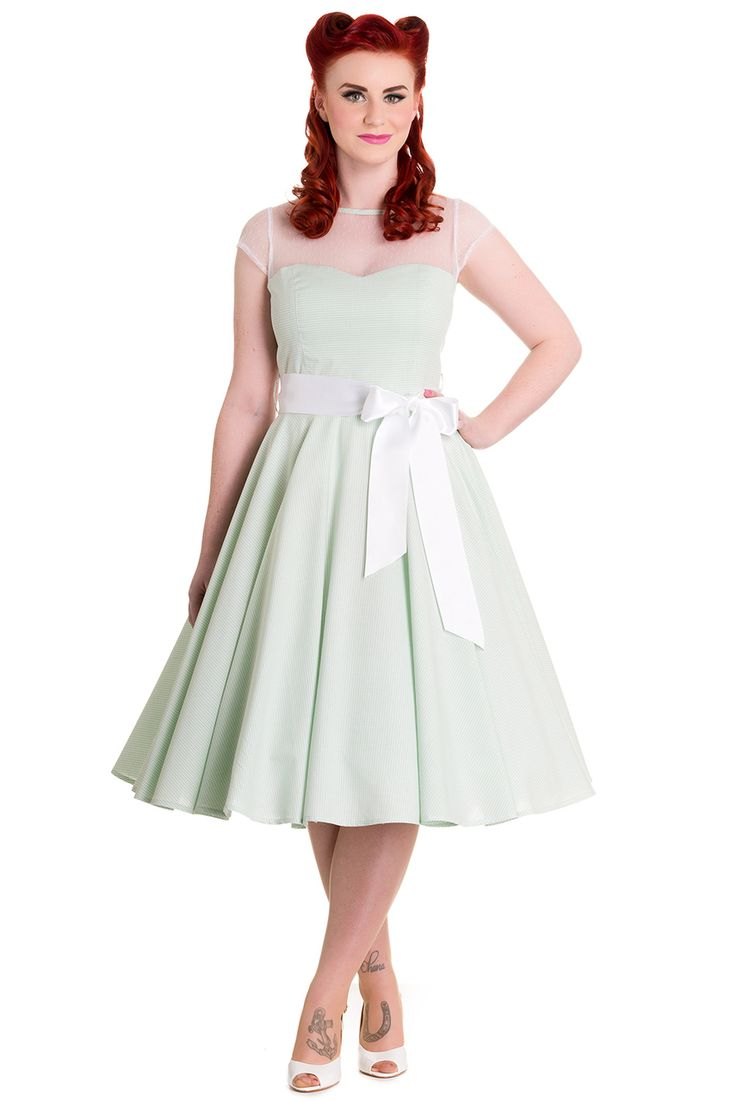 46 best my beautiful bridesmaids images on pinterest bridesmaids maisy mint gingham dress by hell bunny ombrellifo Images