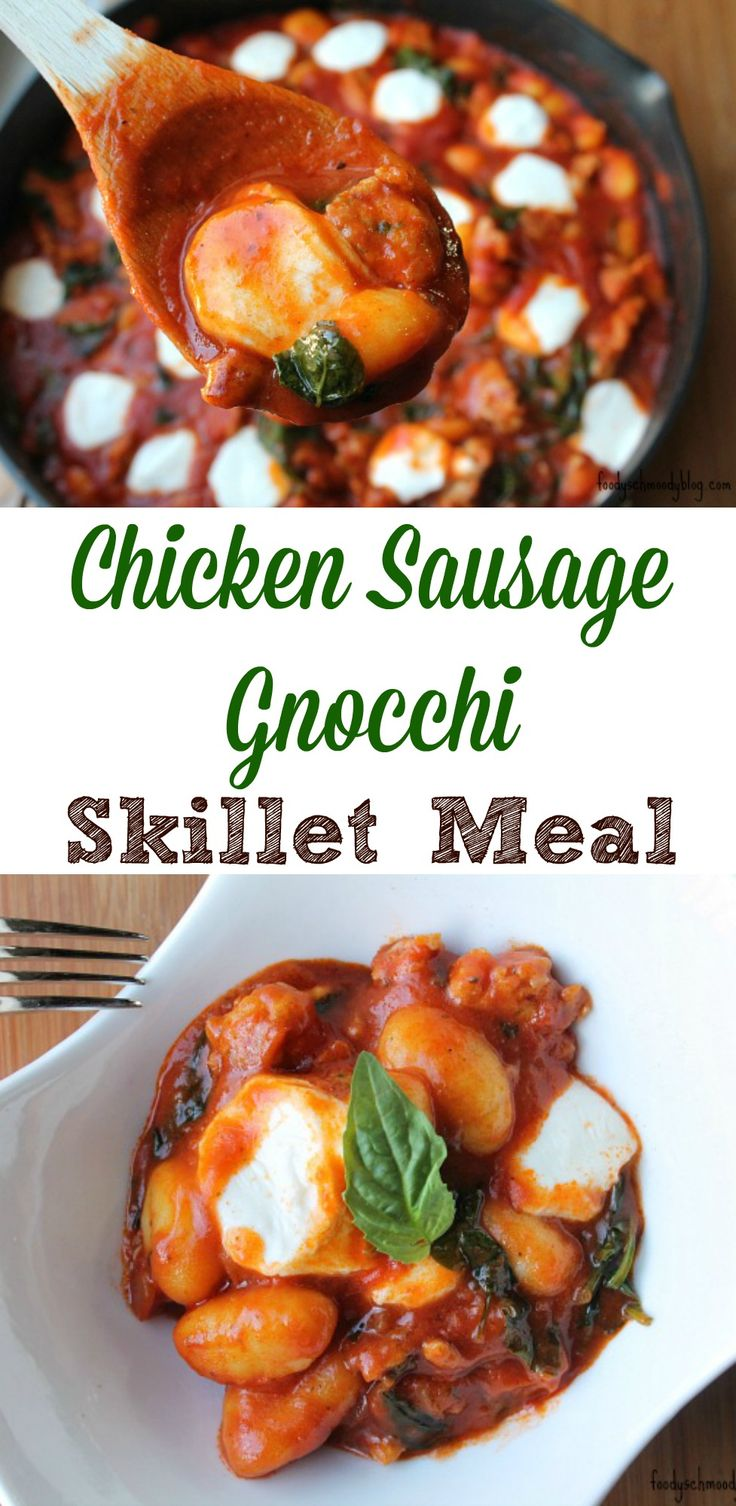 Chicken Sausage Gnocchi Skillet Meal Viva Bertolli!  Dinner ready in about 20 minutes and all in one skillet!  How easy is that?  To get more Italian recipes and/or tips visit : https://ooh.li/5ccf739  #ad #vivabertolli