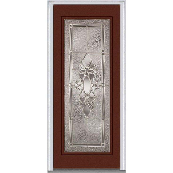 25 best ideas about steel exterior doors on pinterest for Prehung entry door with storm door